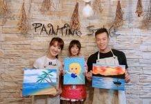 親子畫畫課 油畫 壓克力顏料